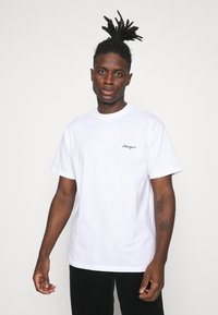 Carhartt WIP - CALIBRATE - Print T-shirt - white - 0