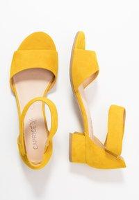 Caprice - Sandals - yellow - 3