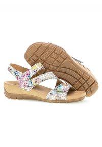 Gabor - Wedge sandals - mehrfarbig - 2