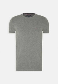 Tommy Hilfiger - STRETCH TEE - T-shirt basic - grey - 3