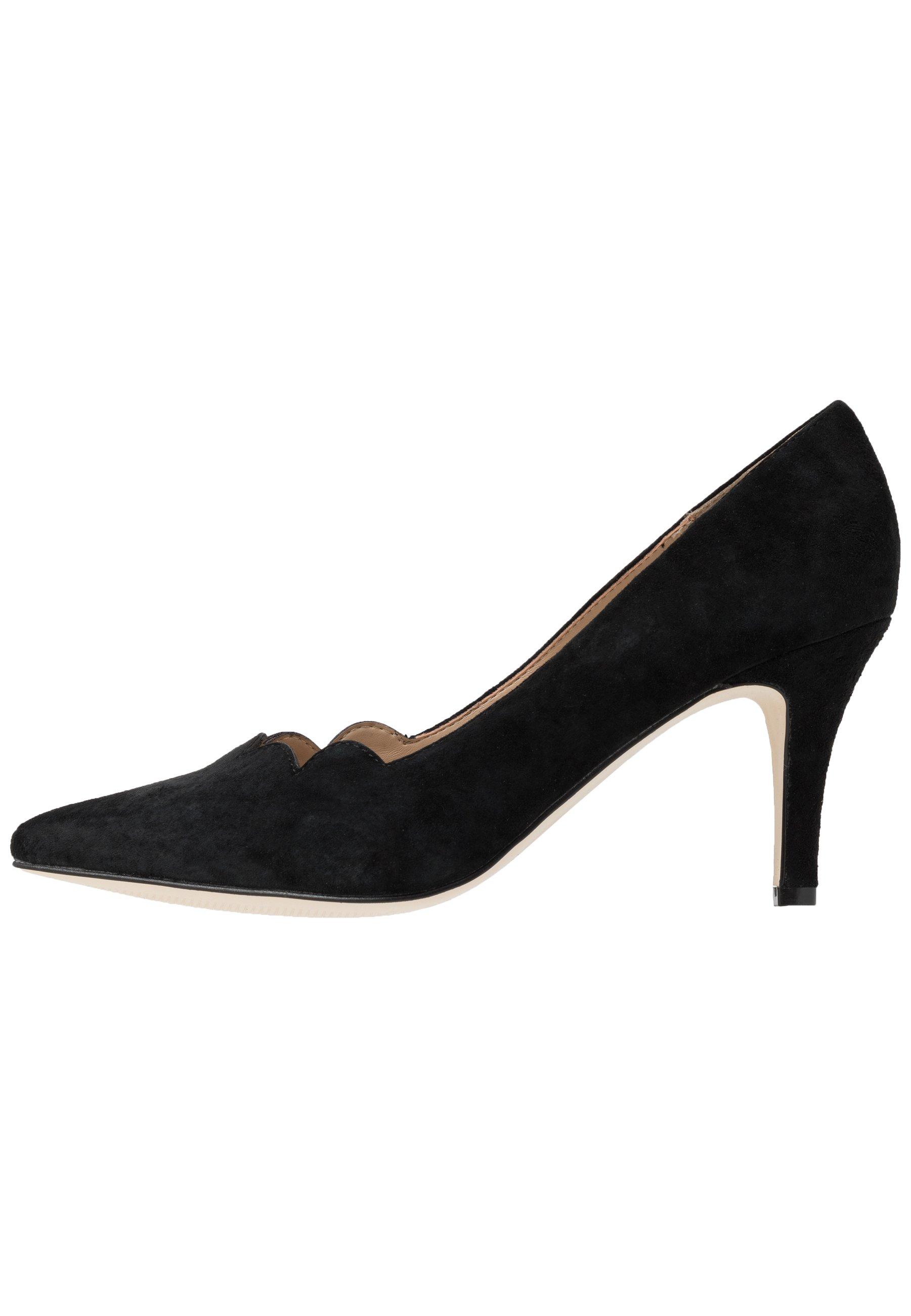 Anna Field Leather - Klassiske Pumps Black/svart