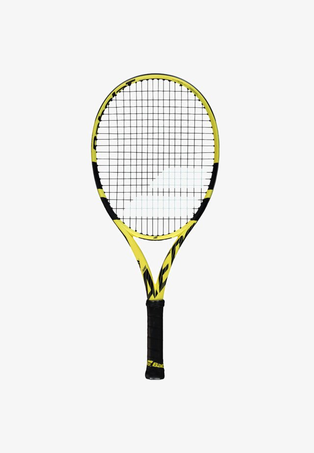 PURE AERO JUNIOR - Tennis racket - yellow/black