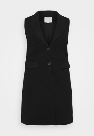 CAREMMA KNEEWAISTCOAT - Waistcoat - black