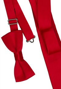 Only & Sons - ONSTHEO BOW TIE SET - Fluga - pompeian red - 4