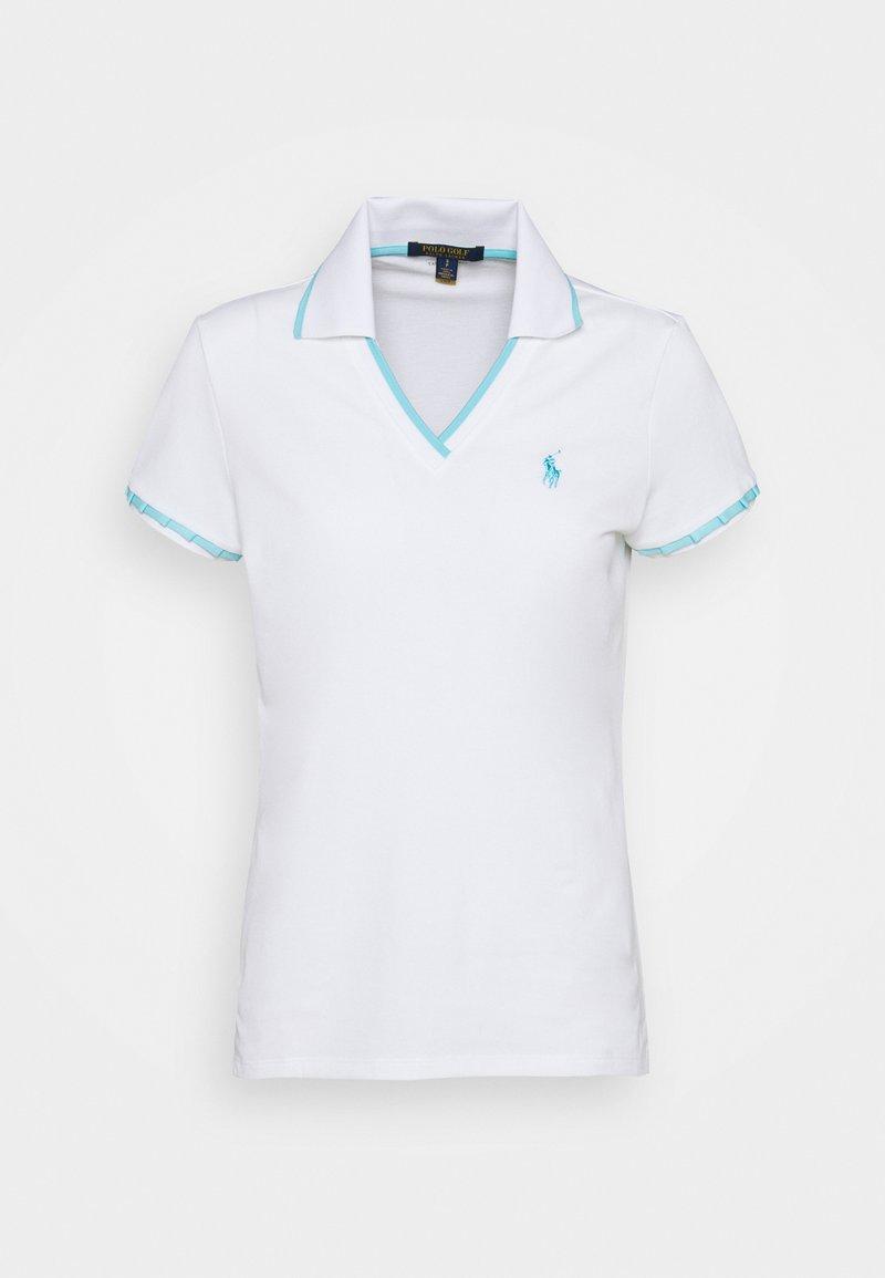 Polo Ralph Lauren Golf - CRICKET SLEEVE - Polotričko - pure white