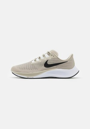 AIR ZOOM PEGASUS 37 - Neutral running shoes - stone/black/light army/off noir