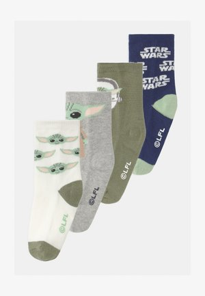 TODDLER BOY STAR WARS MANDOLORIAN THE CHILD 4 PACK - Socks - multi-coloured