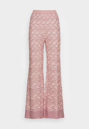 TROUSERS - Trousers - pale pink
