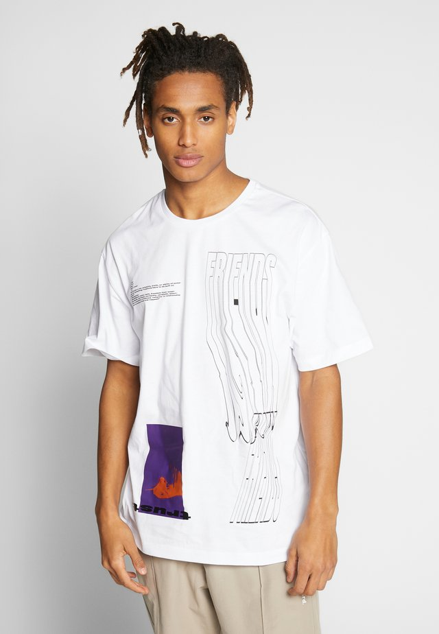 FRIENDS - T-shirt con stampa - white