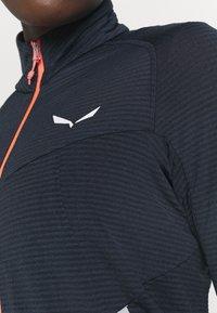 Salewa - PEDROC - Fleece jacket - navy blazer melange - 5