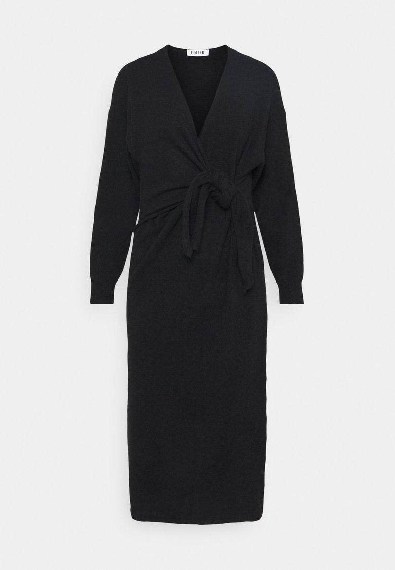 EDITED - LENA DRESS - Jumper dress - schwarz
