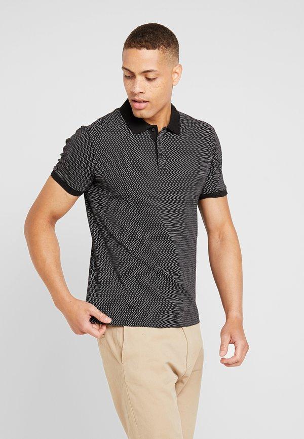 Pier One Koszulka polo - black/czarny Odzież Męska NQMG