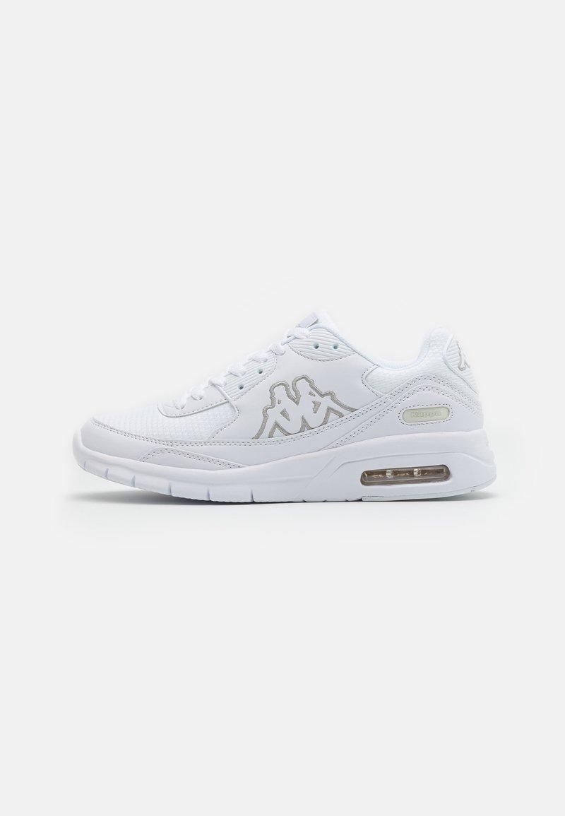 Kappa - HARLEM II UNISEX - Neutral running shoes - white/grey