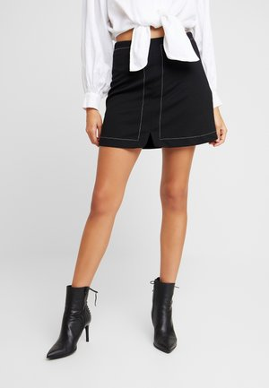 Áčková sukně - white/black