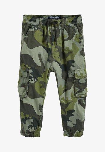 Cargo trousers - multi-coloured