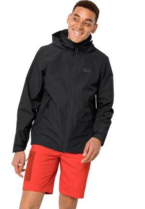 EVANDALE  - Waterproof jacket - black