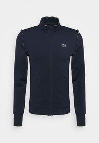 Lacoste Sport - TRACK JACKET - Training jacket - navy blue/white - 4