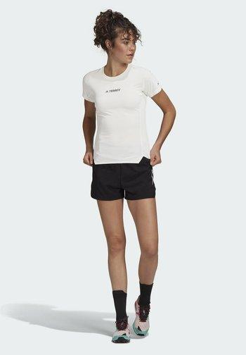 TERREX PARLEY AGRAVIC TRAIL RUNNING ALL-AROUND T-SHIR - Camiseta estampada - white