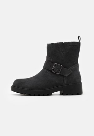 CASEY GIRL WPF - Cowboy/biker ankle boot - dark grey