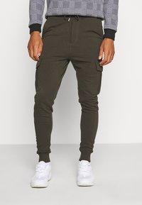 Brave Soul - Teplákové kalhoty - khaki - 0