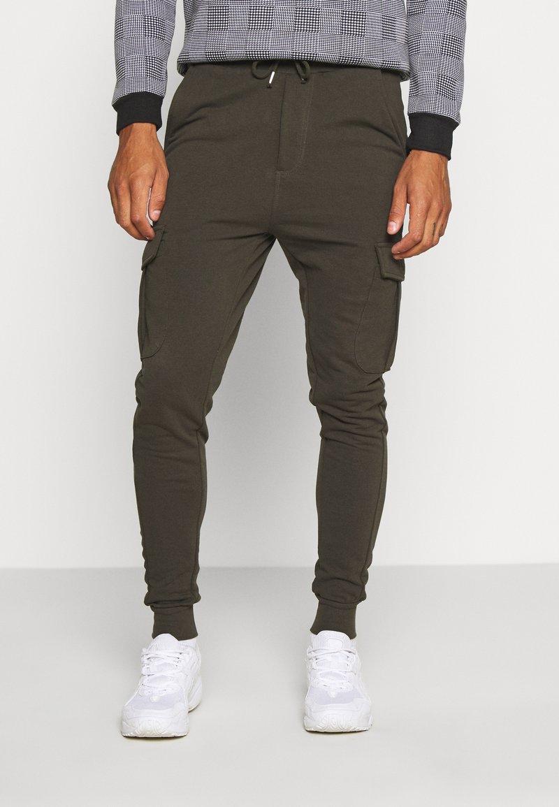 Brave Soul - Teplákové kalhoty - khaki