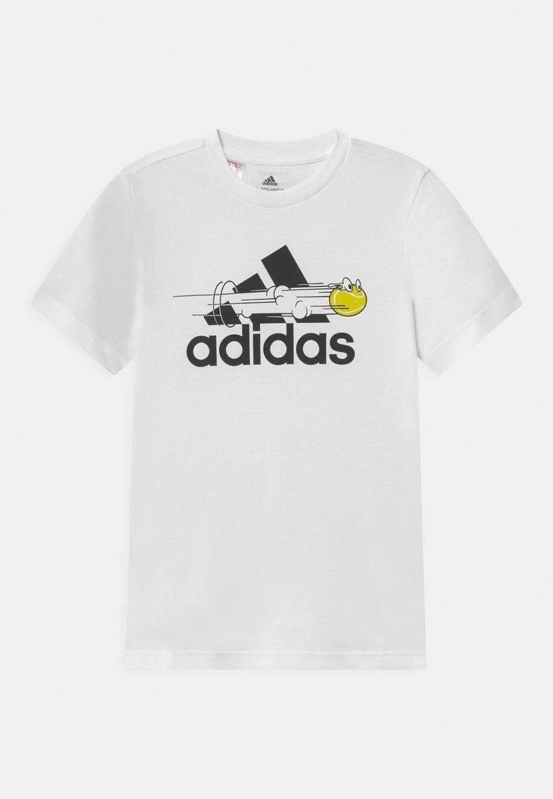 adidas Performance - UNISEX - Camiseta estampada - white