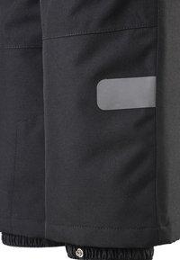 Reima - KIDDO LIGHTNING - Snow pants - black - 4