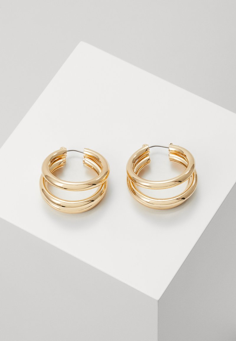 Topshop - WIN TUBE HOO - Earrings - gold-colored