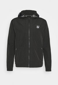 SIKSILK - ZIP THROUGH WINDBREAKER JACKET - Giacca leggera - black - 3