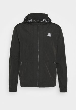 ZIP THROUGH WINDBREAKER JACKET - Chaqueta fina - black