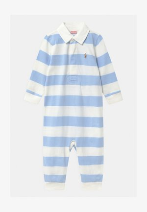RUGBY ONE PIECE  - Overall / Jumpsuit - beryl blue/white