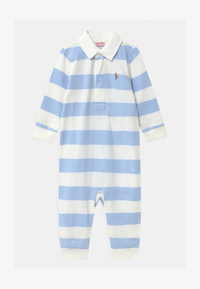RUGBY ONE PIECE  - Jumpsuit - beryl blue/white