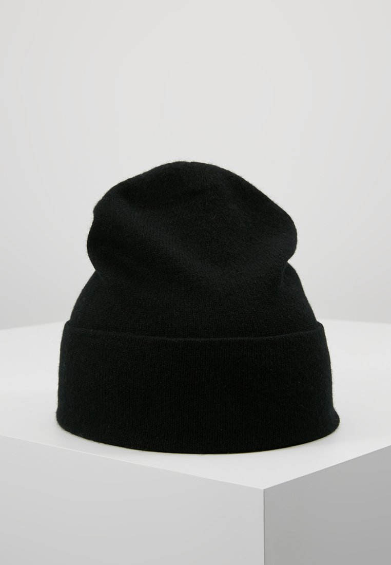 Johnstons of Elgin - CASHMERE BEANIE - Čepice - black