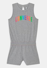 Converse - CONVERSE MULTI COLORED ROMPER - Jumpsuit - grey heather/multi nep - 0