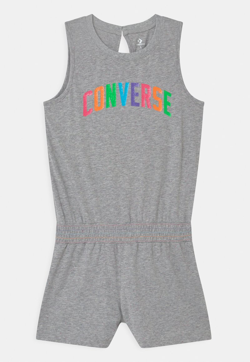 Converse - CONVERSE MULTI COLORED ROMPER - Jumpsuit - grey heather/multi nep