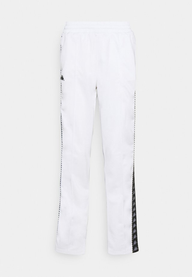 IMMITARA - Tracksuit bottoms - bright white