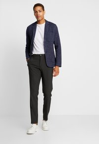 Jack & Jones PREMIUM - JPRSHOT SLIM FIT - Blazer jacket - navy blazer/melange - 1