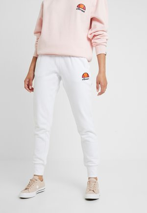 QUEENSTOWN - Tracksuit bottoms - white