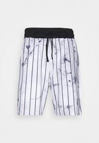SIKSILK - MARBLE RELAXED - Shorts - white/grey - 3