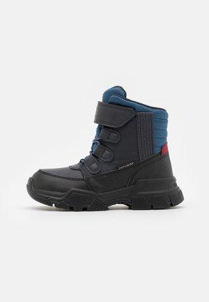 NEVEGAL BOY ABX - Žieminiai batai - navy/dark red