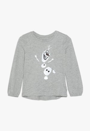 GIRL FROZEN - Long sleeved top - grey heather