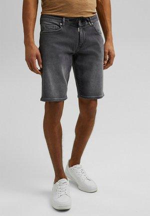 Jeansshorts - grey medium washed