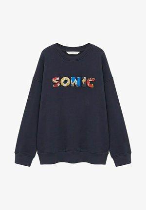 SONIC - Sweatshirt - donkermarine