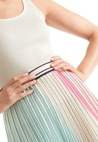 Marc Cain - MIT PLISSEES - A-line skirt - multi-coloured - 2
