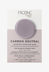 INC.redible - FACE INC CARBON NEUTRAL CHARCOAL PURIFYING POD MASK 10ML - Face mask - 9322 neutral - 0