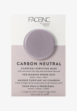 FACE INC CARBON NEUTRAL CHARCOAL PURIFYING POD MASK 10ML - Face mask - 9322 neutral