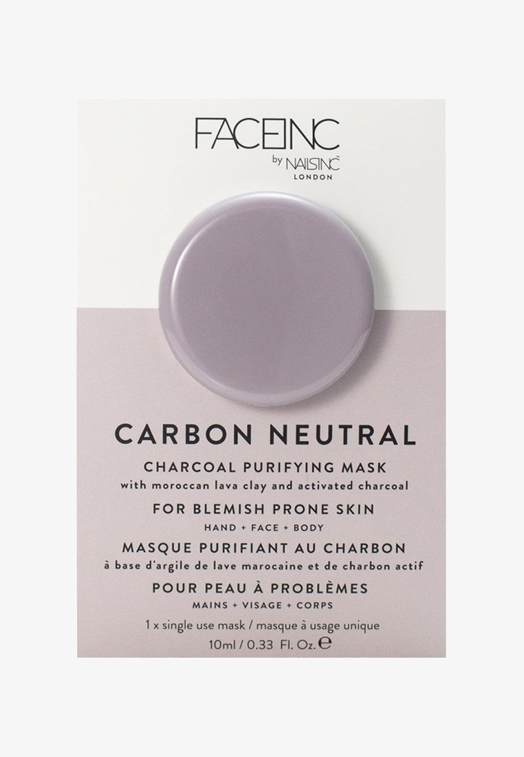 INC.redible - FACE INC CARBON NEUTRAL CHARCOAL PURIFYING POD MASK 10ML - Face mask - 9322 neutral