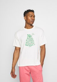 adidas Originals - STAN UNITE TEE UNISEX - T-shirt con stampa - off-white - 0