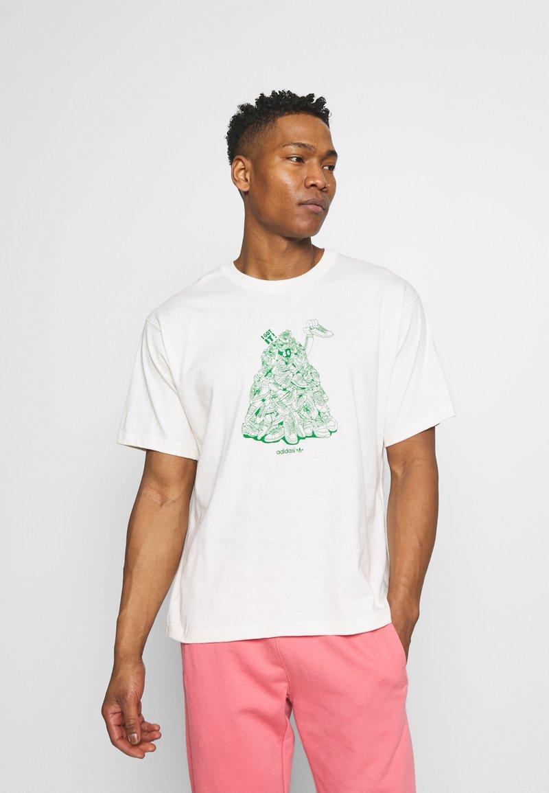 adidas Originals - STAN UNITE TEE UNISEX - T-shirt con stampa - off-white