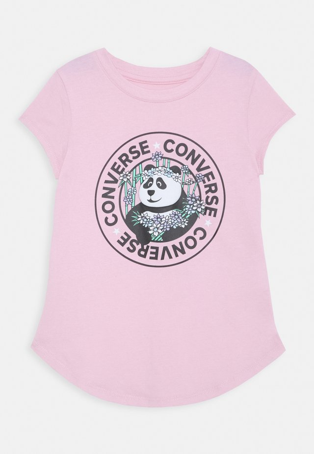 PANDAMONIUM TEE - Print T-shirt - converse pink glaze